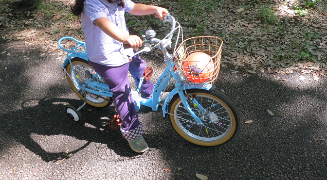 エレクトーンと自転車【娘(長女)5歳の誕生日プレゼント】