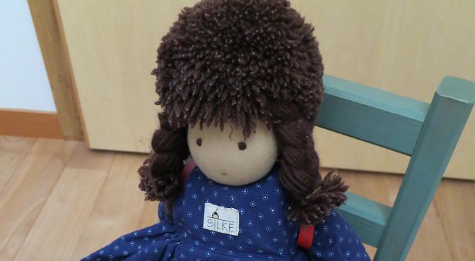 ジルケ人形のランドセルと靴【娘(長女)6歳の誕生日プレゼント】