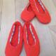 【魔女の宅急便】キキの赤い靴(ルームシューズ)作りました!そして私の脳がいい仕事した件。